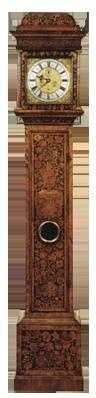 Charles Burges, London  Longcase Clock