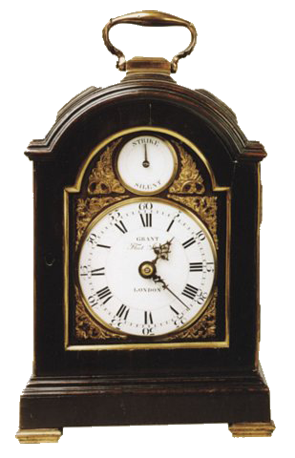 John Grant, London  Mantel Clock