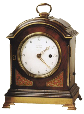 Louis Recordon, London  Mantel Clock