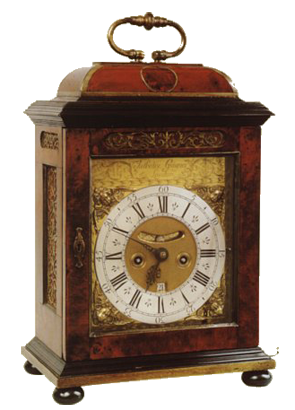 Antoine Guiguer, London  Bracket Clock