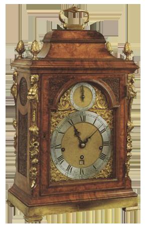 John Ellicott, London  Bracket Clock
