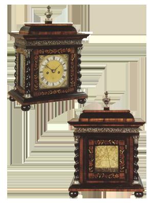 Ignatius Huggerford  , London Table Clock