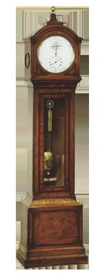 George Vaughan, London Longcase Clock