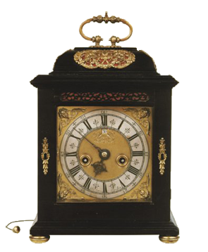 John Clowes, London  Bracket Clock