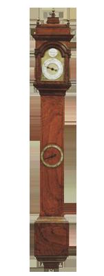 John Whitehurst, Derby  Barometer Clock