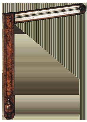 Charles Orme, Ashby de la Gouche Barometer Clock