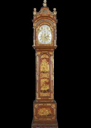 Robert Higgs and James Evans, London Longcase Clock