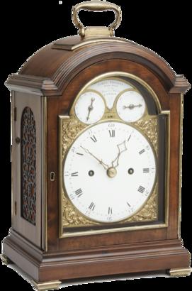 James Tregent, London Bracket Clock