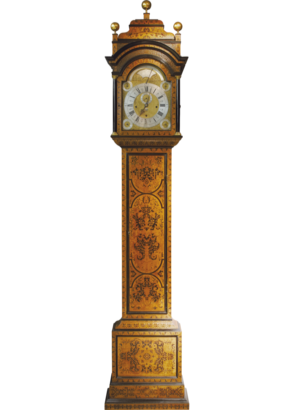 Claude Du Chesne, London Longcase Clock