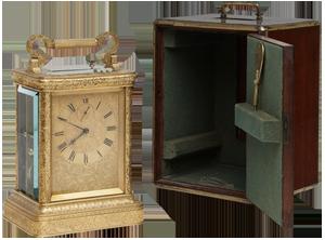 James McCabe, London Carriage Clock
