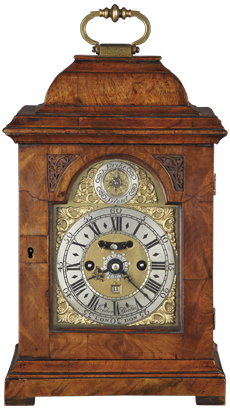 Frances Asselin, London Bracket Clock