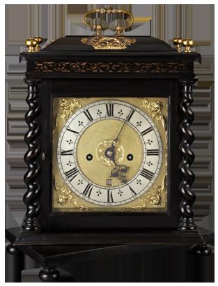Edward Bird, London Table Clock