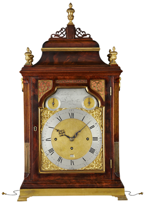 Eardley Norton, London Bracket Clock