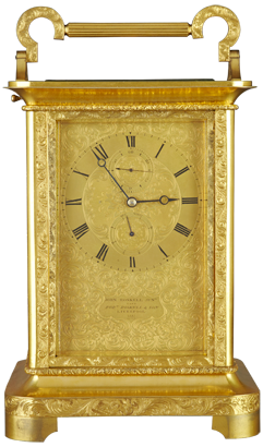 Roskell, Livrpool Carriage Clock