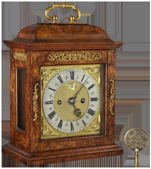 Joseph Knibb, London Bracket Clock