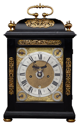 George Etherington, London Bracket Clock