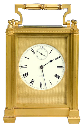 E White, London Carriage Clock