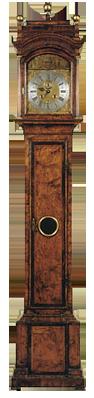 Joseph Saer, Londini, Fecit  Longcase Clock