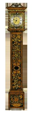 Robert Crosbey, London  Longcase Clock