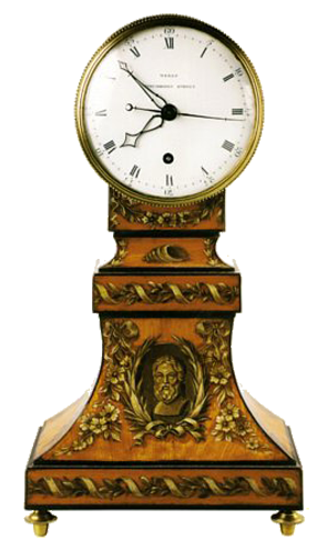 Thomas Weeks, London  Mantel Clock