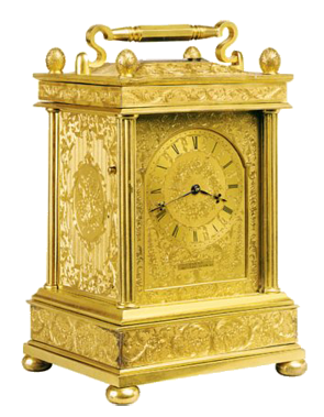 Payne & Co, 163 New Bond Street, London Carriage Clock
