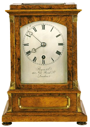 Payne & Co., , 163 New Bond Street, London  Mantel Clock